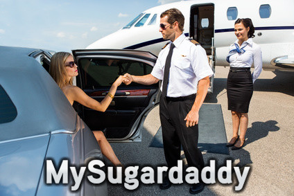 Traveling with my sugar daddy