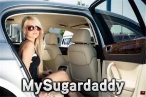 my sugar daddy bought me a car