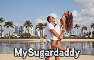 sugar daddy with a younger woman