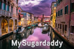 Sugar babies: eyes on the most romantic place on earth: Venice