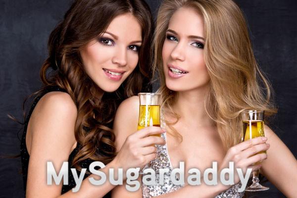 Sugar babys love cocktails