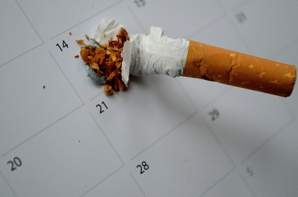 Stop with the habit of smoking