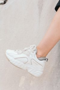Chunky sneakers are one of the trends for this summer