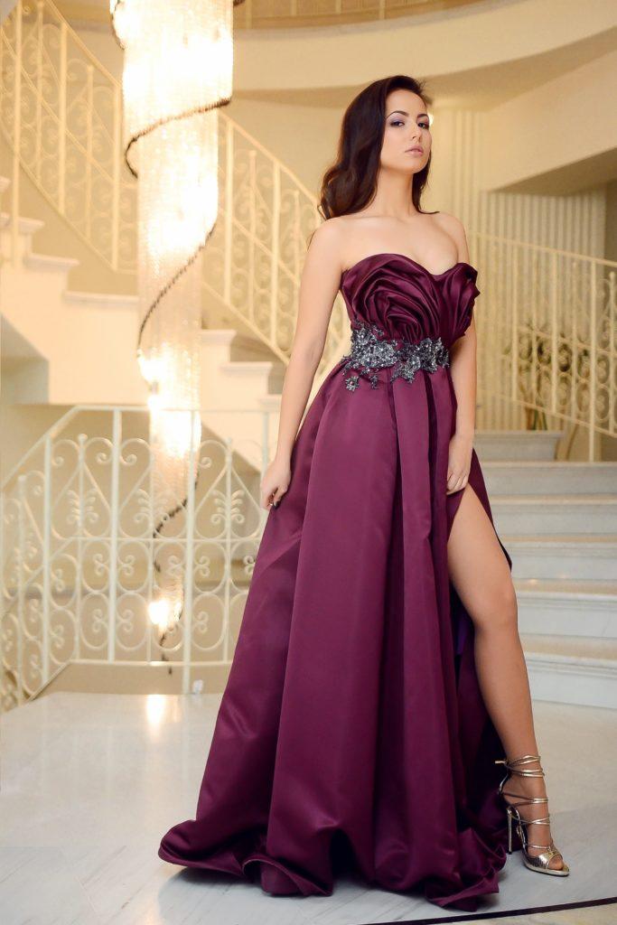 girl dressed elegantly