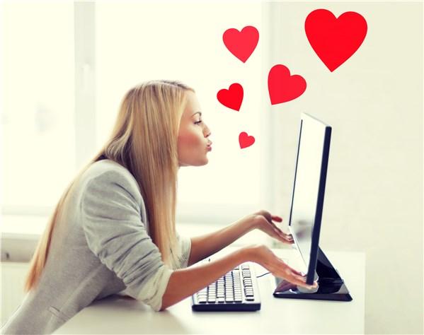 girl ignoring the danger of love scams