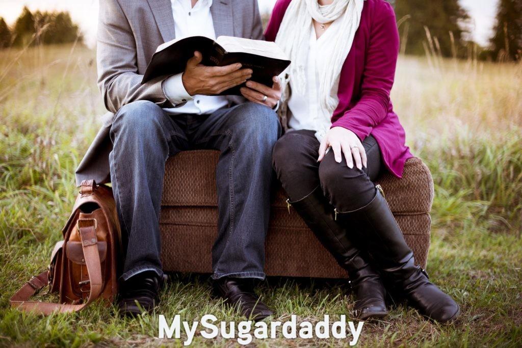 polite sugar daddy flirting