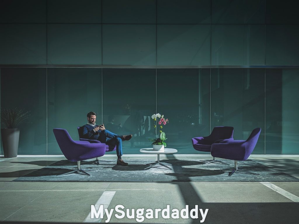 etiquette for sugar babies rule being broken: sugar daddy waiting for sugar baby