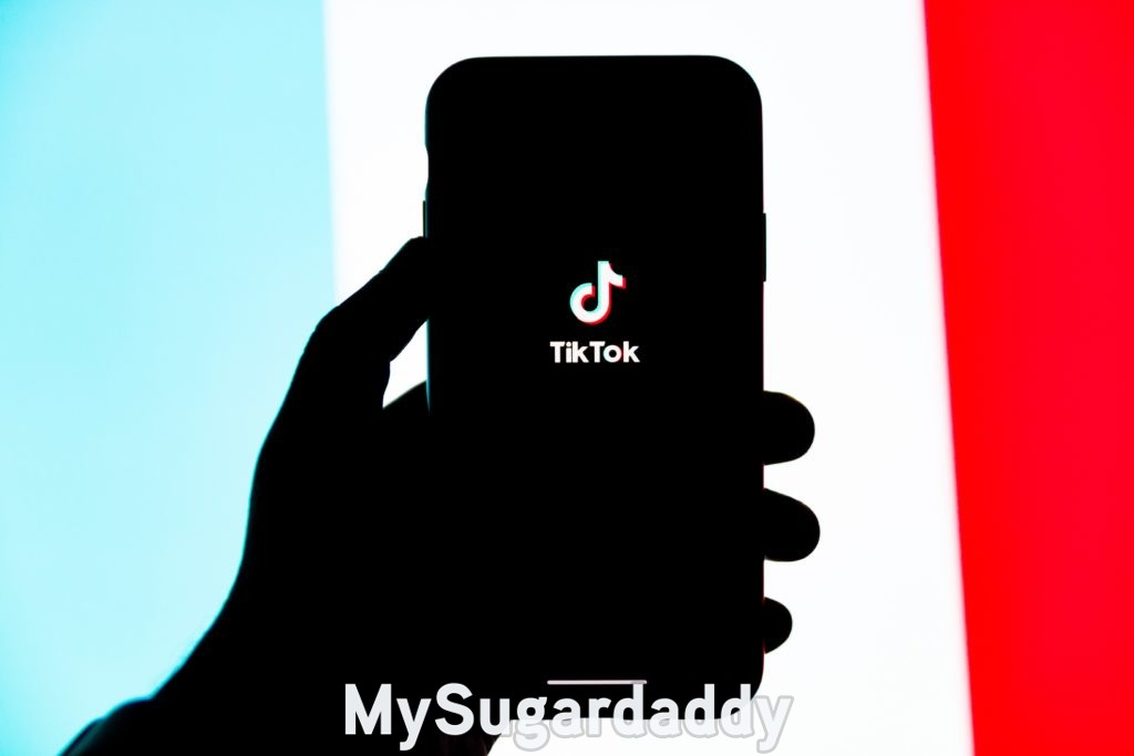 sugar baby tiktok on phone